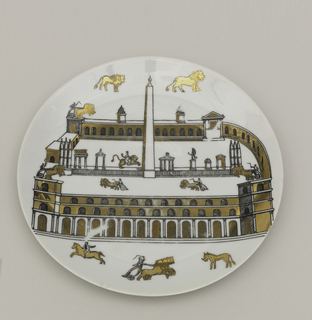 Plate (Italy), 20th century