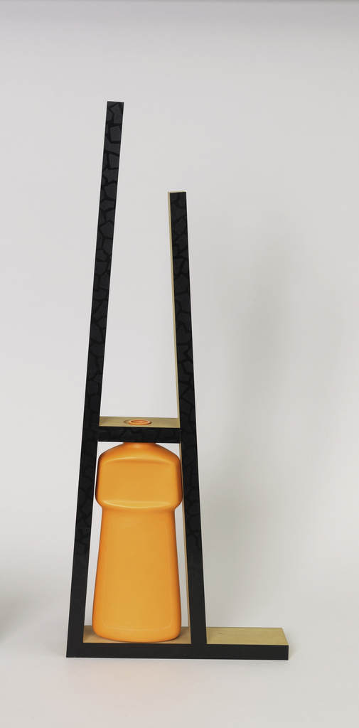 """""""Wisk Bottle"""" from """"Recycle Series"""" Vase, 1989"""