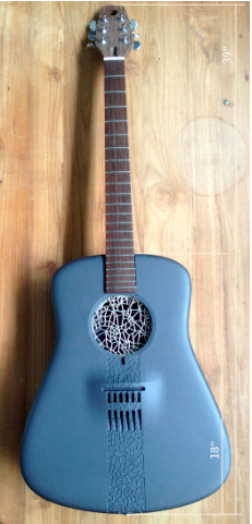 Guitar, 3D-Printed Acoustic Guitar, 2014