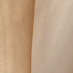 Lightweight, sheer copper fabric used to shield sensitive equipment from electromagnetic smog.