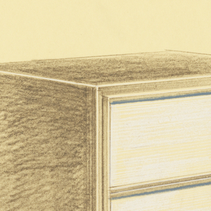 Drawing, Design for Television Cabinet