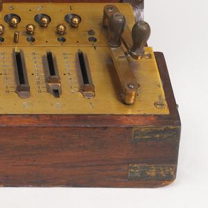 Arithrometer Calculator, ca. 1890