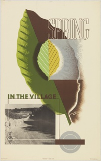 Poster, Spring in the Village