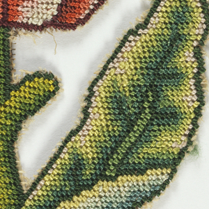 Embroidered Slip (England), 17th century