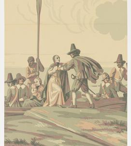 Scenic - Panel, Landing of the Pilgrims, 1930–40