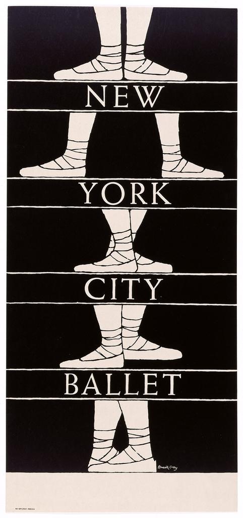 Poster, New York City Ballet
