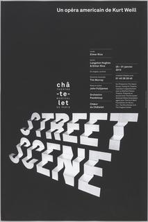 Poster, Street Scene