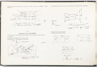 Sample Book, Le Corbusier