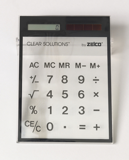 Clear Solutions Solar Calculator Calculator, 1988