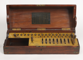 Arithrometer Calculator, ca. 1890