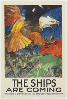 Poster, The Ships are Coming