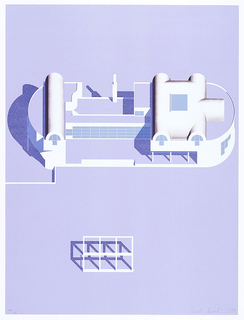 """Print, """"House for Two Generations"""" Project, Second Version"""