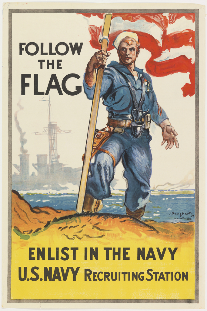 Poster, Enlist in the Navy