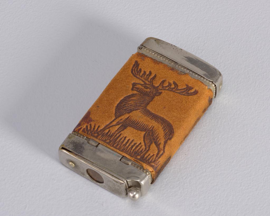 Elk Matchsafe, ca. 1900