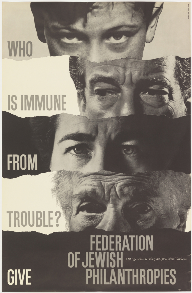 Poster, Who is Immune..., ca. 1955