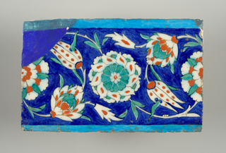 Tile (Iran (formerly known as Persia)), 16th century
