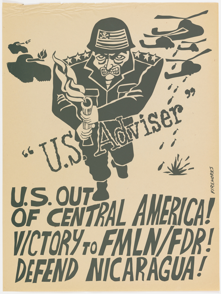 Poster, U.S. Out of Central America!