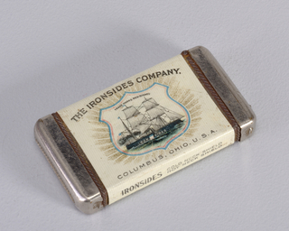 """Ironsides Company, Columbus, Ohio, U.S.A."" Made by Bastian Bros."