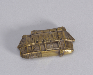 Japanese Thatched-Roof House Matchsafe