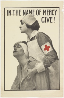 World War I poster for the Red Cross.